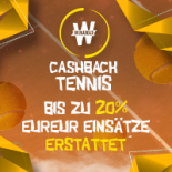Cashback Tennis news